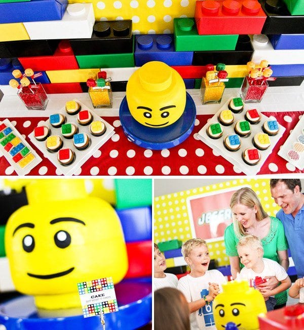 bricks4kidz lego birthday party jakarta