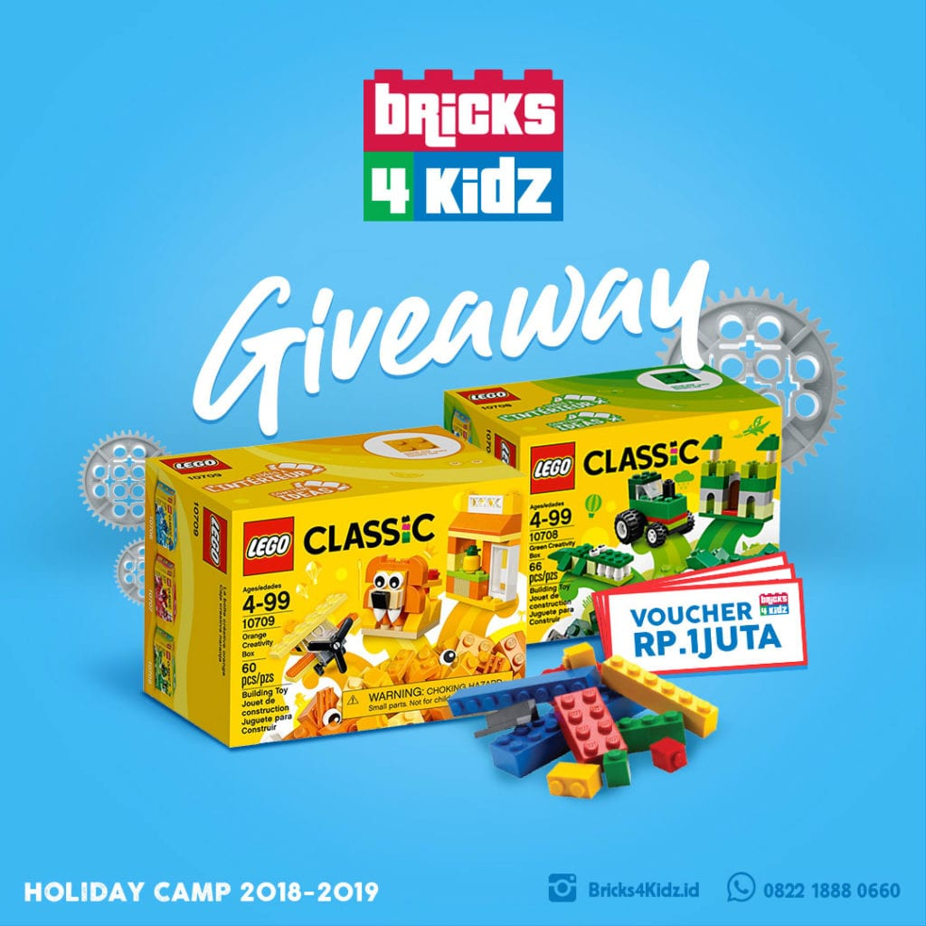 Bricks 4 kidz camp giveaway