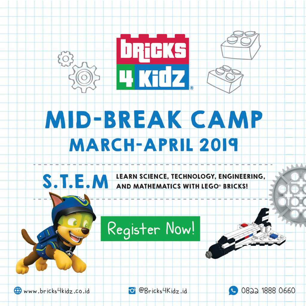 March Camp Bricks 4 Kidz Jakarta 2019