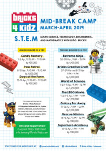 March Camp 2019 Bricks 4 Kidz Jakarta